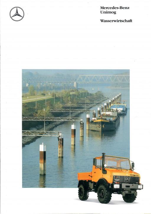 Prospekt 290 Unimog-Prospekt Wasserwirtschaft - 606000290