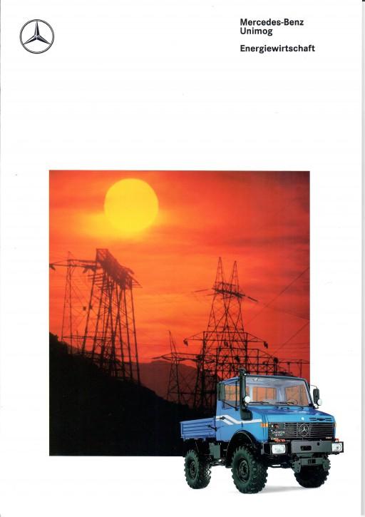 Prospekt 291 Unimog-Prospekt Energiewirtschaft 1 - 606000291