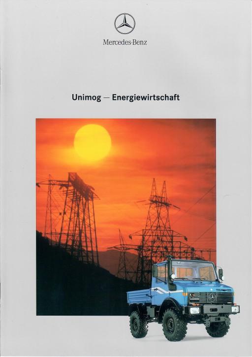 Prospekt 293 Unimog-Prospekt Energiewirtschaft 2 - 606000293