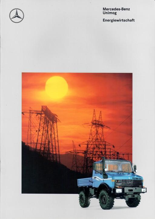 Prospekt 292 Unimog-Prospekt Energiewirtschaft 3 - 606000293