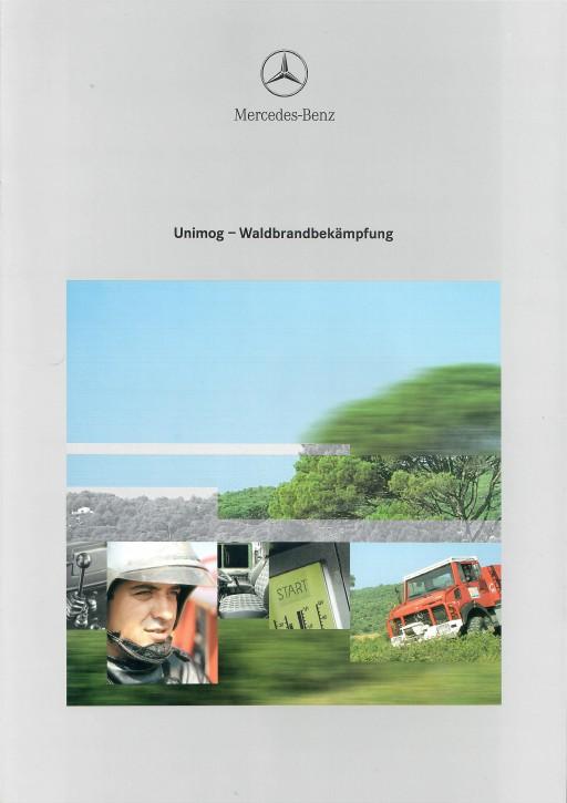 Prospekt 294 Unimog Prospekt Waldbrandbekämpfung - 606000294
