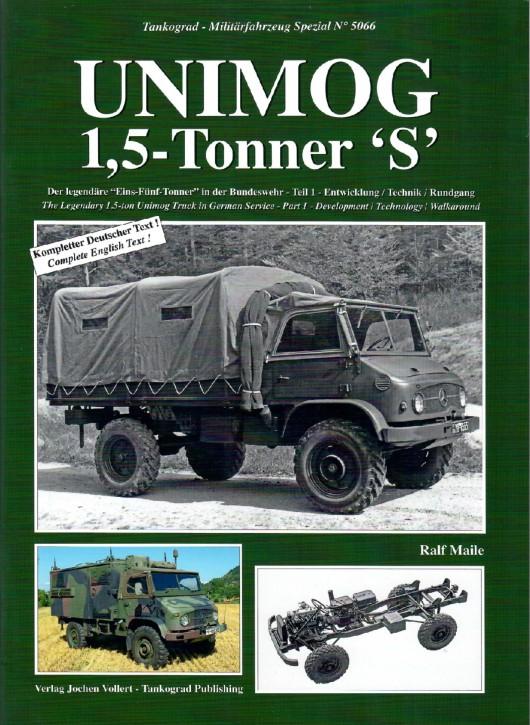 "Buch: Unimog 1,5-Tonner ""S"" - Teil 1 - 604001073"