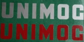 UNIMOG-Schriftzug zum Aufkleben - rot - 705000019