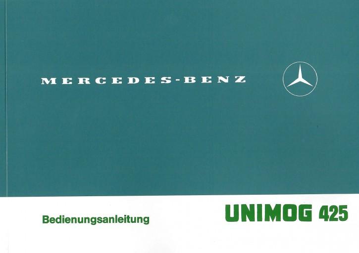 Betriebsanleitung Unimog 425 - 30 400 51 41 - 304001057