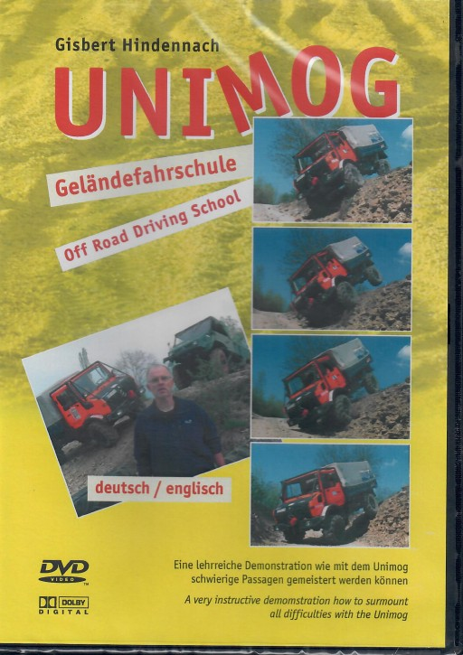 DVD: Unimog Geländefahrschule - 655000008