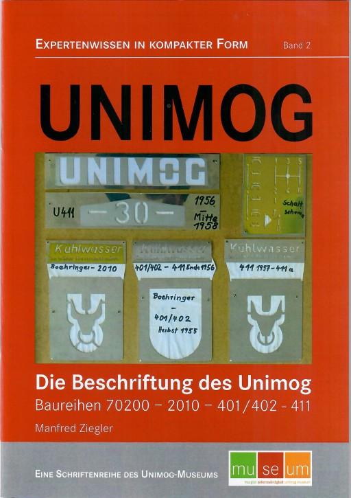 Unimog: Die Beschriftung des Unimog - 605000003