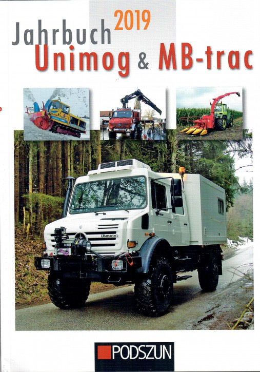 Buch: Jahrbuch Unimog & MBtrac 2019 - 604001018