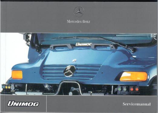 Servicemanual Unimog - 6518 5252 15 Original - 354151006