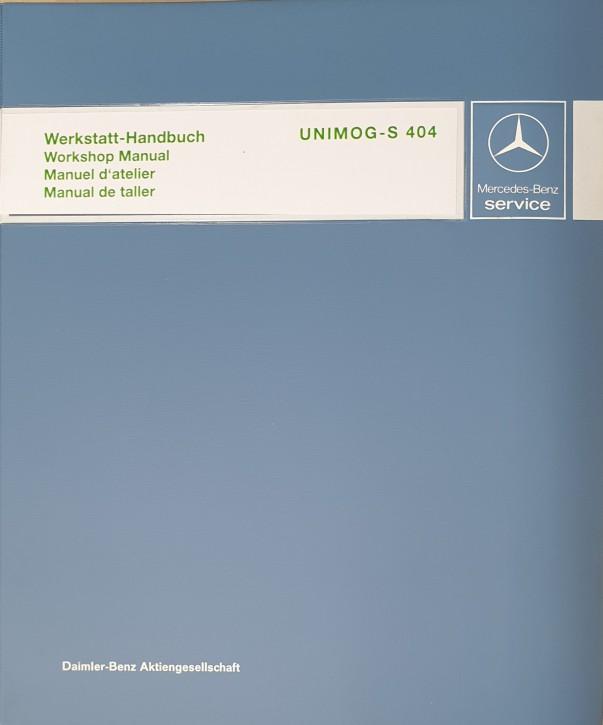 Werkstatt-Handbuch Unimog 404 S - 104001020