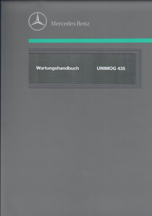 Wartungshandbuch Unimog 435 - 104001010 - 30 400 26 41