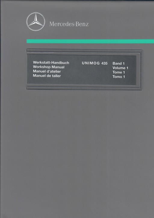 Unimog Workshop Manual 435.115 - OM 366 - 114021007 - 30 402 21 44