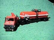 Roco Zweiwege Unimog DK mit Kesselwagen DB - 1901930 - 704001012