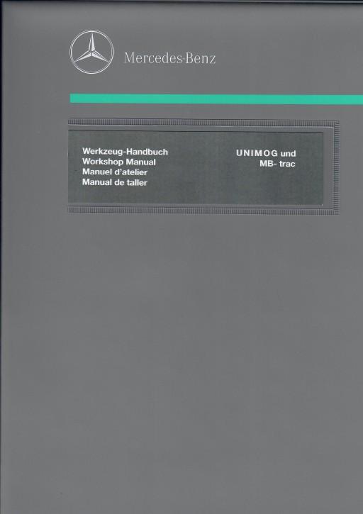 Werkzeug-Handbuch Unimog + MB-trac - 104001009 - 30 430 23 02