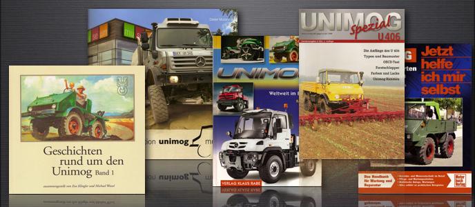 Unimog & MB-trac Bücher